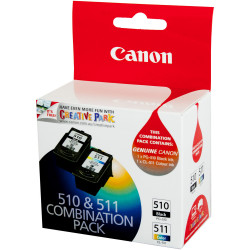 Canon PG510 CL511 Ink Cartridge Value Pack Assorted Colours