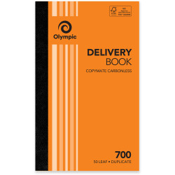 Olympic 700 Carbonless Book Duplicate 200x125mm Delivery 50 Leaf