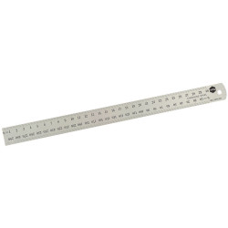 MARBIG METAL RULER 600mm SS