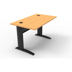 RAPID SPAN DESK W1200xH700mm Beech & Black