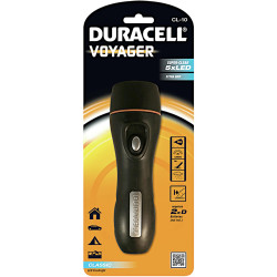 DURACELL VOYAGER FLASHLIGHT CL10 LED Torch